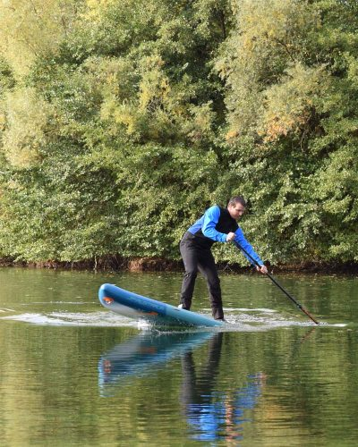 SUP Stand up Paddle Anfängerkurs Stepback Turn Bruchsal Karlsruhe