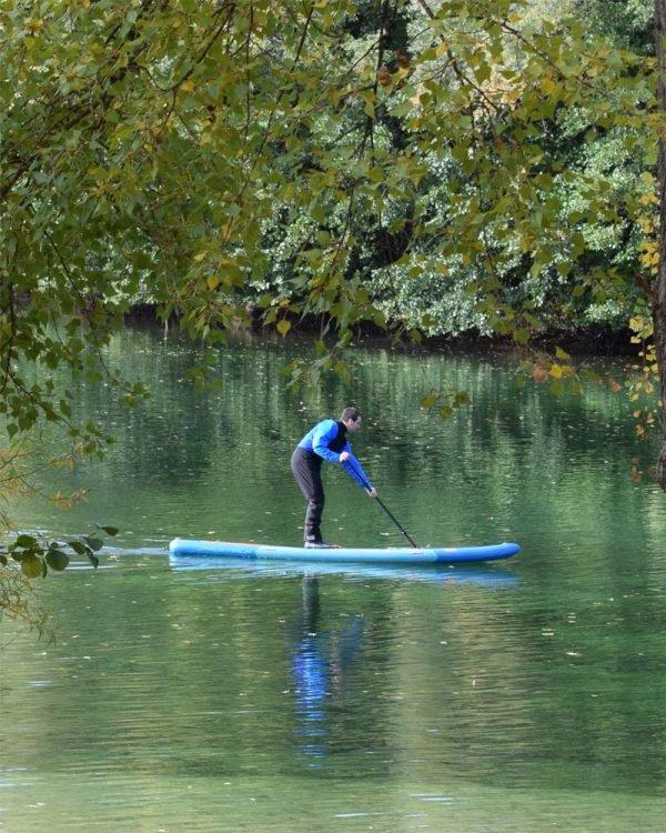 SUP Stand up Paddle Geführte Tour Karlsruhe